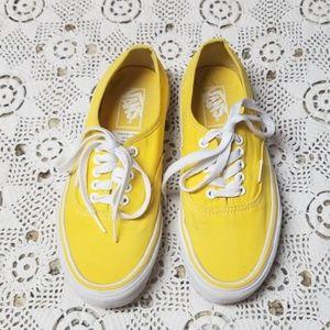 Vans Lace Up Shoes W8 M6.5